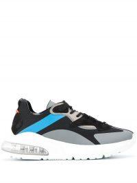 Aura sneakers met vlakken