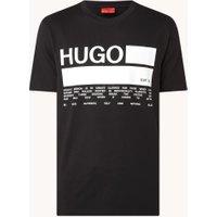 HUGO DangriI T-shirt met logoprint