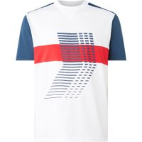 HUGO Daty_LP3 T-shirt met colour blocking