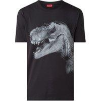 HUGO Drex T-shirt met frontprint
