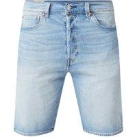 Levi's 501 straight fit korte broek van denim