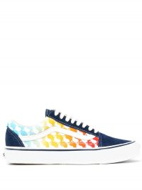 Sneakers met all-over print