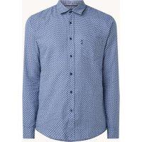 BOSS Mypop_3 slim fit overhemd met print