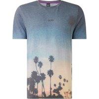 BOSS TSunset T-shirt met print