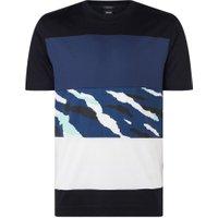BOSS Tiburt T-shirt met colourblocking