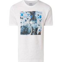 BOSS Tomio T-shirt met frontprint