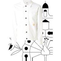 Calvin Klein Omega Trucker spijkerjas met backprint