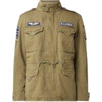Ralph Lauren Field jacket van denim met verborgen capuchon