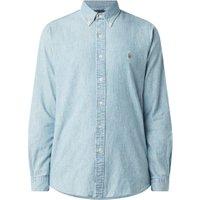 Ralph Lauren Regular fit button down-overhemd van denim