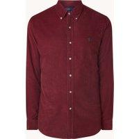 Ralph Lauren Regular fit overhemd van corduroy