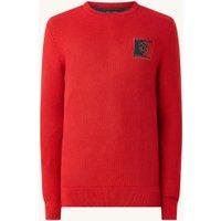 Tommy Hilfiger Bijenkorf sweater met structuur
