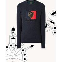 Tommy Hilfiger Fijngebreide pullover met borduring