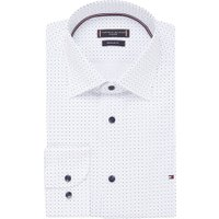 Tommy Hilfiger Regular fit exra lang overhemd met strippenprint