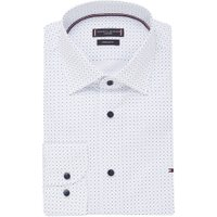 Tommy Hilfiger Regular fit overhemd met stippenprint