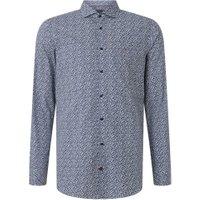Tommy Hilfiger Slim fit strijkvrij overhemd met print